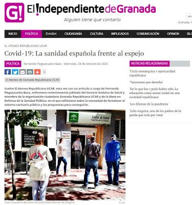 COVID-19: La sanidad española frente al espejo